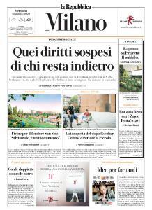 la Repubblica Milano - 10 Giugno 2020