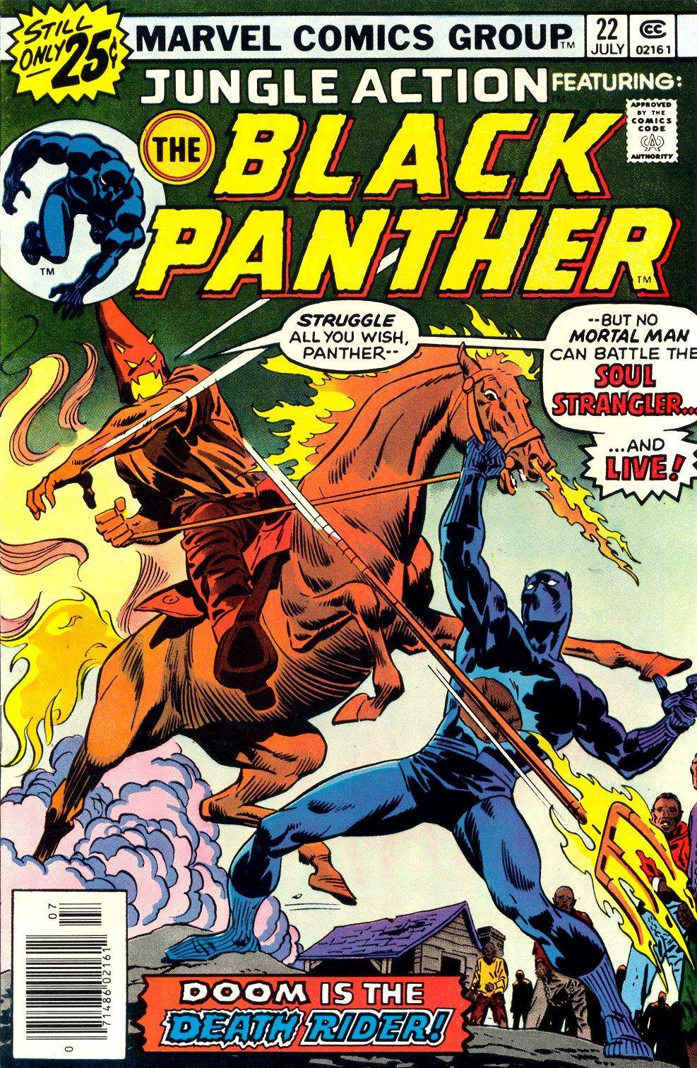 Jungle Action v2 022 featuring Black Panther