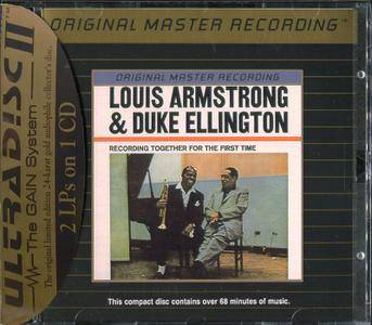 Louis Armstrong & Duke Ellington - Recording Together For The First Time / The Great Reunion ... (1988) [MFSL, UDCD 514]