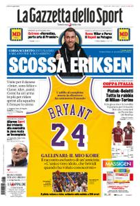 La Gazzetta dello Sport Roma – 28 gennaio 2020
