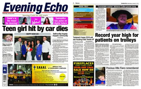 Evening Echo – January 02, 2019