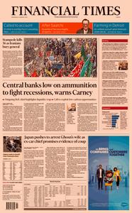 Financial Times Europe – 08 January 2020