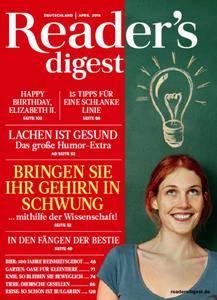Readers Digest Deutschland Magazin April No 04 2016