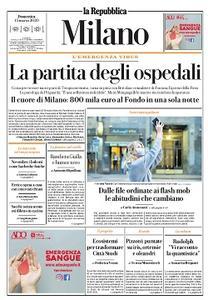 la Repubblica Milano - 15 Marzo 2020