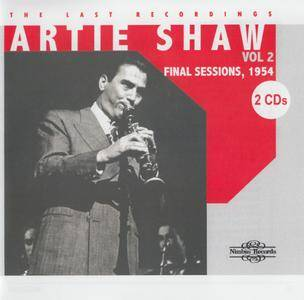 Artie Shaw - The Last Recordings, Volume 2 - THe Final Sessions (1954) {2CD Wyastone-Nimbus NI 2721~22 rel 2009}