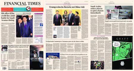 Financial Times Europe – 10 November 2017