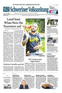 Schweriner Volkszeitung Zeitung für die Landeshauptstadt - 20. August 2019