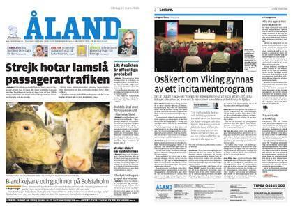 Ålandstidningen – 10 mars 2018