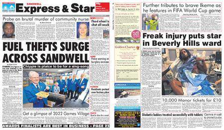 Express and Star Sandwell Edition – June 05, 2018