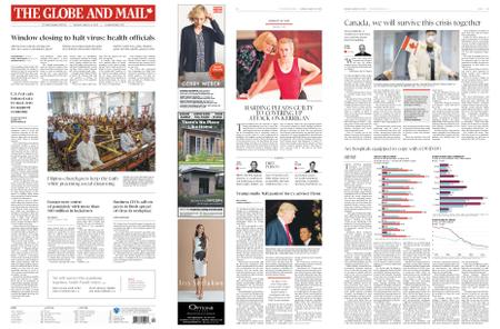 The Globe and Mail – March 16, 2020