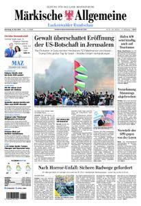 Märkische Allgemeine Luckenwalder Rundschau - 15. Mai 2018