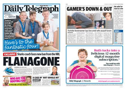 The Daily Telegraph (Sydney) – December 12, 2018