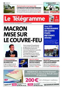 Le Télégramme Brest – 15 octobre 2020