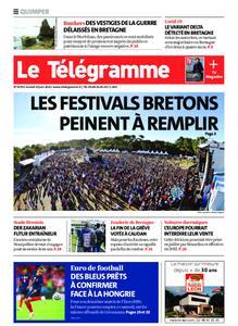 Le Télégramme Quimper – 19 juin 2021
