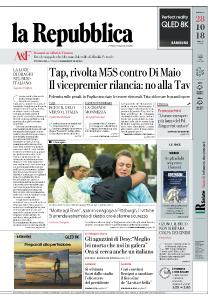 la Repubblica - 28 Ottobre 2018