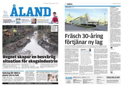 Ålandstidningen – 19 december 2019