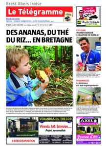 Le Télégramme Brest Abers Iroise – 01 juillet 2019