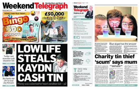 Evening Telegraph First Edition – August 11, 2018