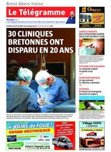 Le Télégramme Brest Abers Iroise – 13 mai 2019