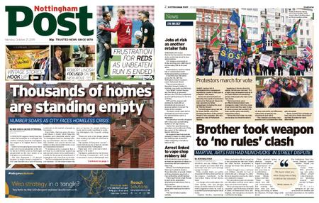 Nottingham Post – October 21, 2019