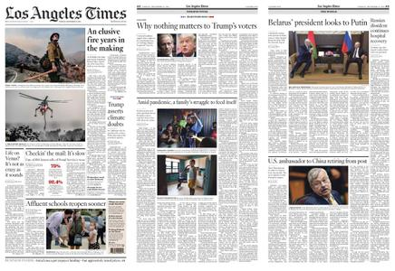Los Angeles Times – September 15, 2020
