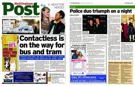 Nottingham Post – November 21, 2018