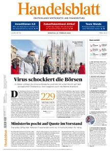 Handelsblatt - 25 Februar 2020