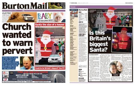 Burton Mail – December 14, 2018