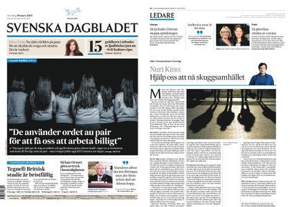Svenska Dagbladet – 19 mars 2020