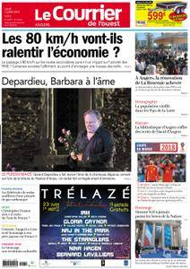 Le Courrier de l'Ouest Angers - 02 juillet 2018