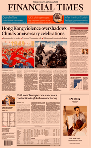 Financial Times Europe – 02 October 2019