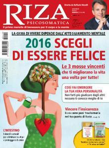 Riza Psicosomatica N.419 - Gennaio 2016