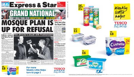 Express and Star Sandwell Edition – April 04, 2019