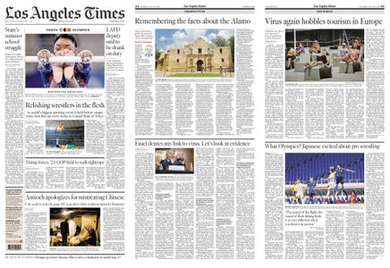 Los Angeles Times – July 26, 2021