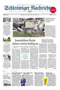 Schleswiger Nachrichten - 15. August 2018