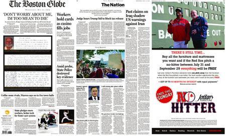 The Boston Globe – May 15, 2019