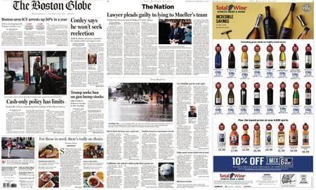 The Boston Globe – February 21, 2018