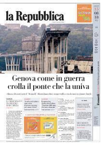 la Repubblica - 15 Agosto 2018