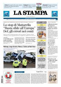 La Stampa Imperia e Sanremo - 11 Ottobre 2018