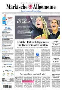 Märkische Allgemeine Luckenwalder Rundschau - 22. Februar 2018
