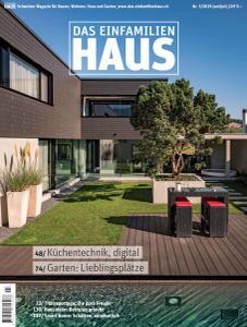 Das Einfamilienhaus Schweiz Nr.3 - Juni-Juli 2019