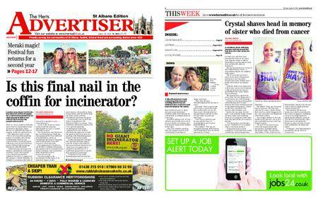 The Herts Advertiser – August 16, 2018