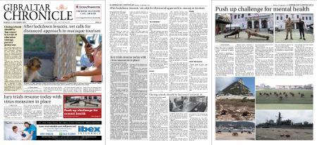 Gibraltar Chronicle – 21 September 2020