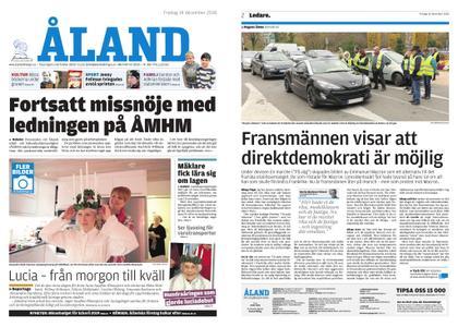 Ålandstidningen – 14 december 2018