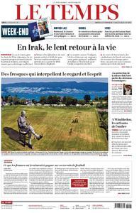 Le Temps - 06 juillet 2019
