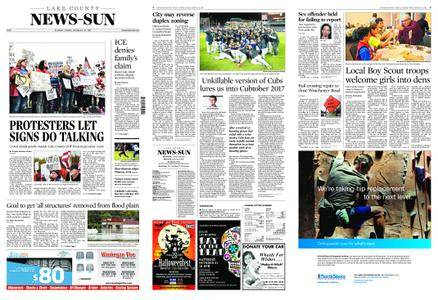 Lake County News-Sun – October 14, 2017