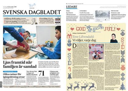 Svenska Dagbladet – 25 december 2019