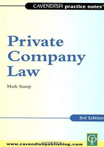 Practice Notes on Private Company Law (Practice Notes)