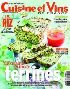 Cuisine et Vins de France – juin 2019