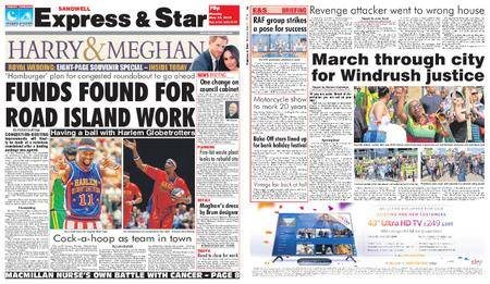 Express and Star Sandwell Edition – May 21, 2018